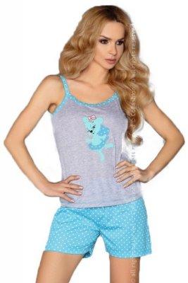 MODEL 723/1 TURQUOISE piżama