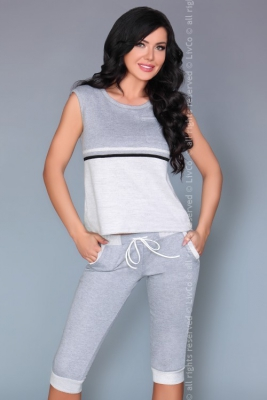 Rathnait LC 90372 Touch Of Gray Collection piżama