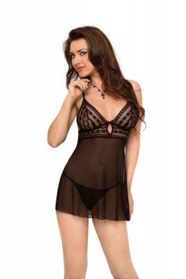 Vanessa - black 1823 koszulka i stringi