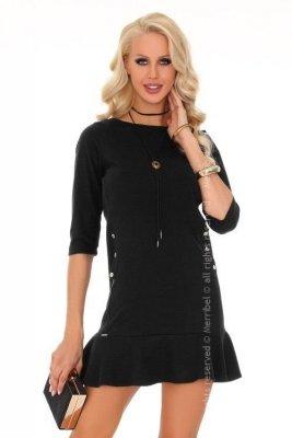 Marima Black 85234 sukienka mała czarna