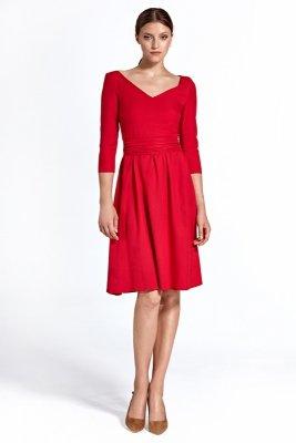 Sukienka cs22 - czerwony - CS22