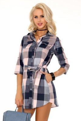 Monali 85351 sukienka koszulowa