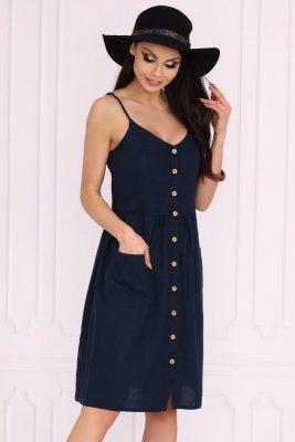 Akminas Dark Blue 85552 sukienka