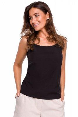 S170 Bluzka na ramiączkach - czarna