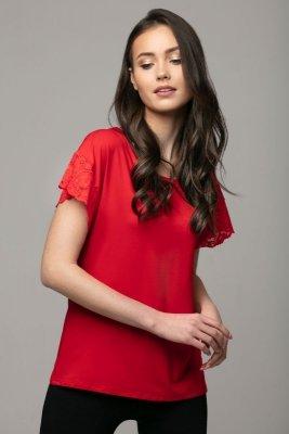 Nancy czerwona bluzka