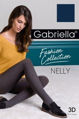 Gabriella Nelly code 449 rajstopy 3D kropki