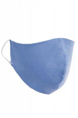Maseczka odzieżowa 3 niebieska