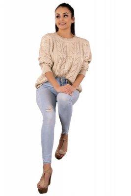 Marynesta Beige sweter