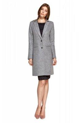 Klasyczny szary płaszcz - PL12