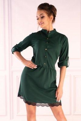 Jentyna Dark Green 85605 sukienka