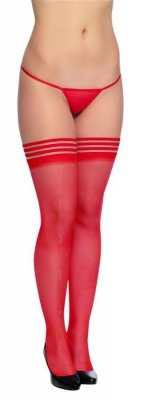 Stockings 5543 red