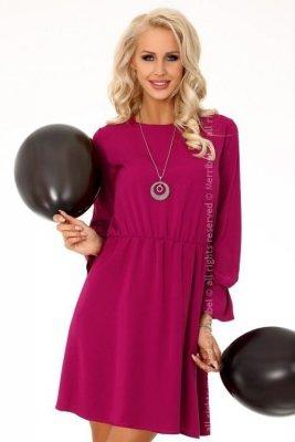 Aniali Purple 85306 sukienka