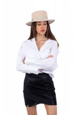 Spódnica L339 czarny