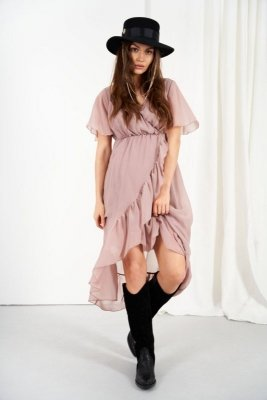 Sukienka L330 capucino