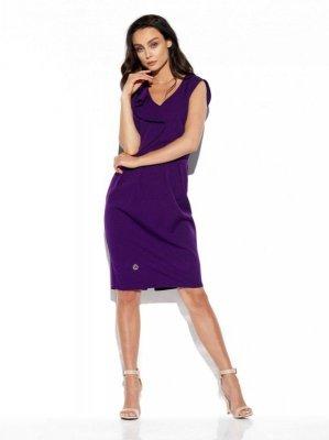 1 Sukienka L337 fiolet PROMO