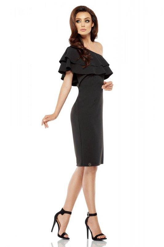 1 Sukienka L254 czarny PROMO