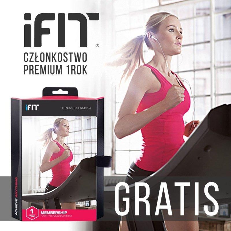 Orbitrek FreeStride NordicTrack FS7i + Roczne członkostwo iFit