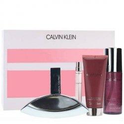 Calvin Klein Euphoria Zestaw - EDP 100 ml + EDP 10 ml + BL 100 ml + BM 150 ml