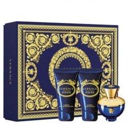 Versace Dylan Blue pour Femme Zestaw - EDP 50 ml + SG 50 ml + BL 50 ml