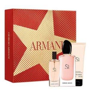 Giorgio Armani SI Zestaw - EDP 100 ml + EDP 15 ml + BL 75 ml