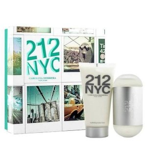 Carolina Herrera 212 NYC Zestaw - Woda toaletowa 60 ml + Balsam do ciała 100 ml