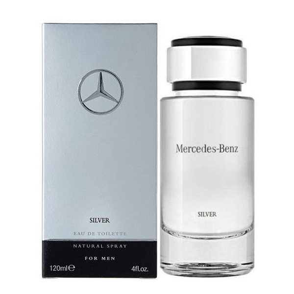 Mercedes-Benz for Men Silver Eau de Toilette 120 ml