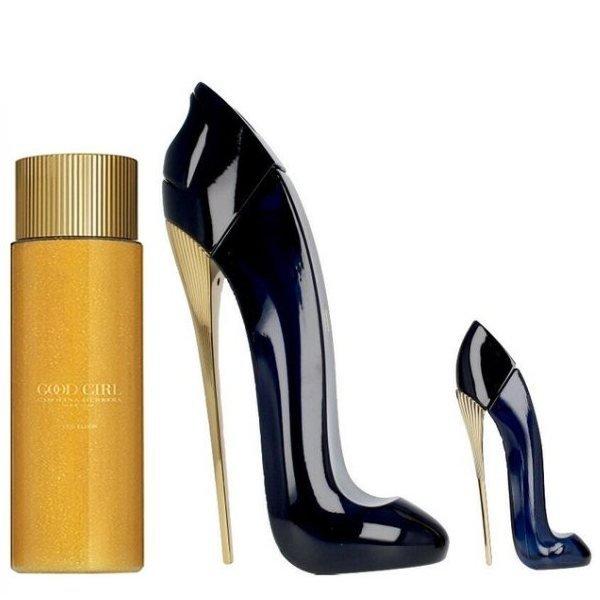 Carolina Herrera Good Girl Set - Eau de Parfum 50 ml + Eau de Parfum 7 ml + Leg Elixir Body Oil 75 ml