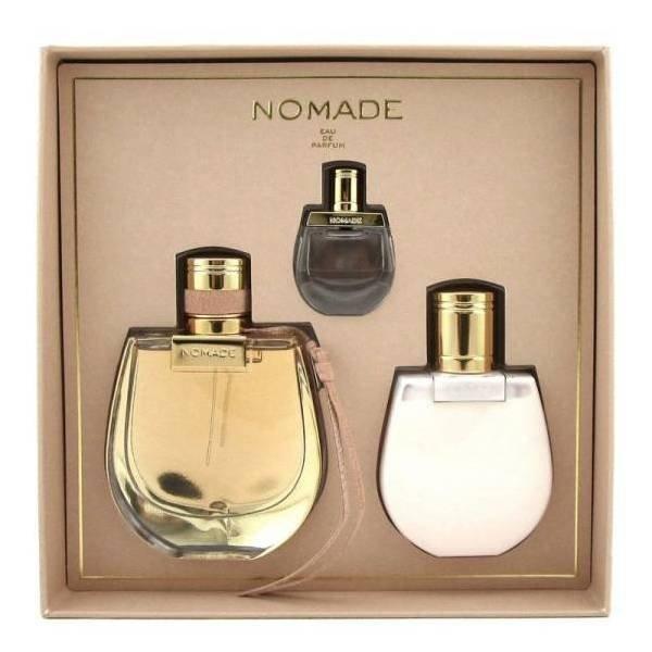 Chloe Nomade Set - Eau de Parfum 75 ml + Eau de Parfum 5 ml + Body Lotion 100 ml