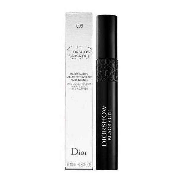 Christian Dior Diorshow Black Out Spectacular Volume Intense Black Khol Mascara 099 10 ml