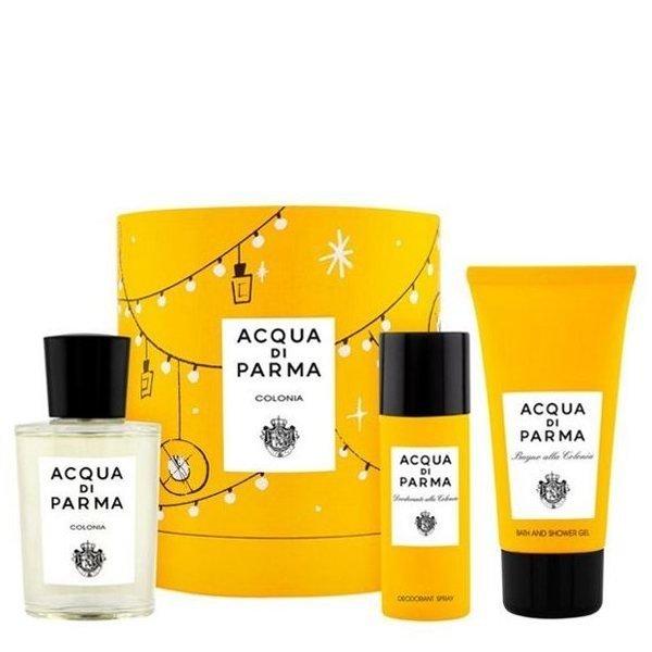 Acqua di Parma Colonia Set - Eau de Cologne 100 ml + Shower gel 75 ml + Deodorant Spray 50 ml