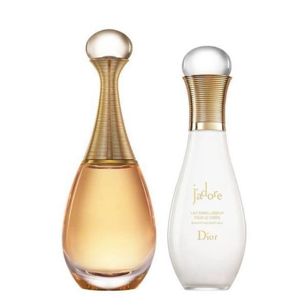 Christian Dior J'adore Set - Eau de Parfum 50 ml + Body Lotion 75 ml