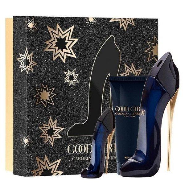 Carolina Herrera Good Girl Set - Eau de Parfum 80 ml + Eau de Parfum 7 ml oz + Body Lotion 100 ml