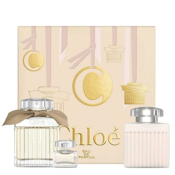 Chloe Chloe Set - Eau de Parfum 75 ml + mini Eau de Parfum 5 ml + Body Lotion 100 ml