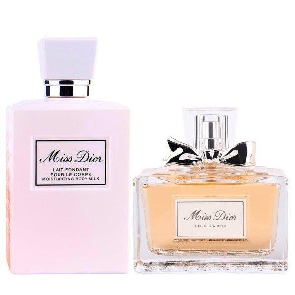 Christian Dior Miss Dior Set - Eau de Parfum 50 ml + Moisturizing Body Milk 75 ml