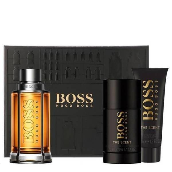 Hugo Boss The Scent Set - Eau de Toilette 100 ml + Shower Gel 50 ml + Deodorant Stick 75 ml