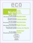 Eco Cosmetics Night - krem odżywczy do twarzy na noc - próbka 2 ml
