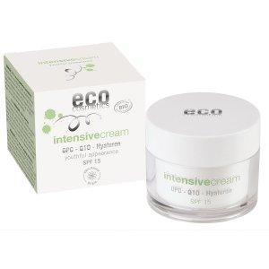 ECO Cosmetics ECO INTENSIVE Krem intensywnie pielęgnujący SPF 15 z OPC, Q10 i kwasem hialuronowym 50ml