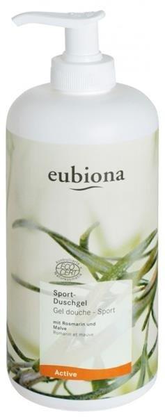 Eubiona Żel pod prysznic z rozmarynem i malwą dla aktywnych 500 ml
