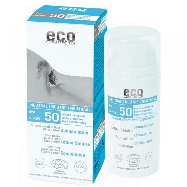 Eco Cosmetics Emulsja na słońce SPF 50 NEUTRAL 100 ml