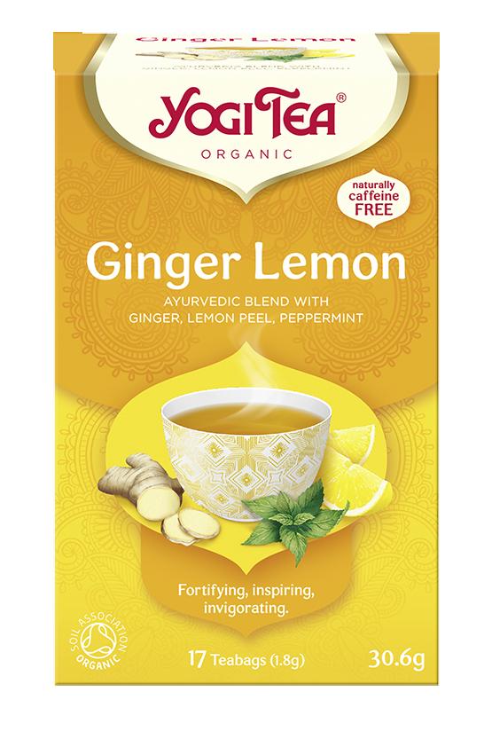 Yogi Tea Imbirowo-cytrynowa GINGER LEMON