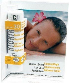 Eco Cosmetics Balsam do ust w sztyfcie faktor SPF 30, 4 g Przecena (termin: 10.2021)