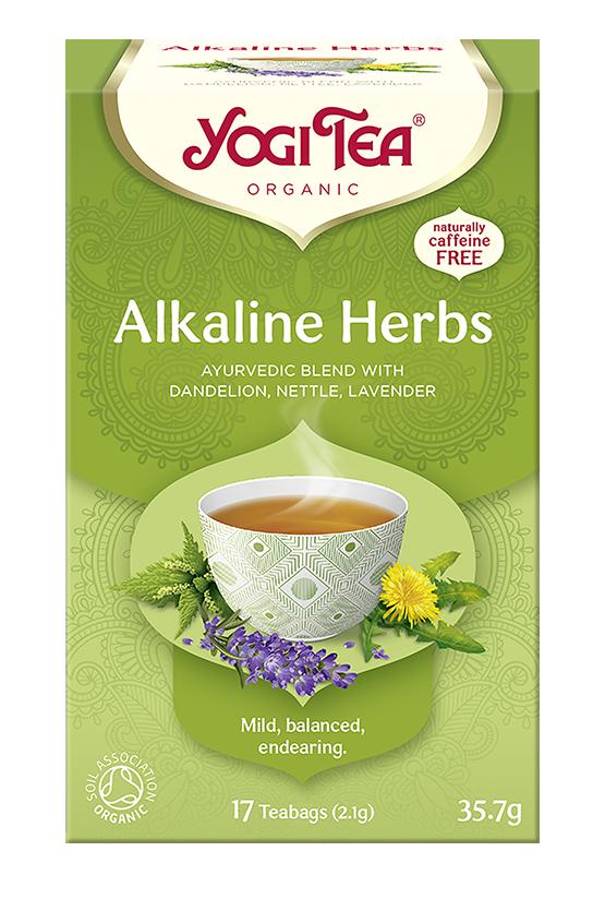 Yogi Tea Zioła alkaliczne ALKALINE HERBS