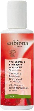 Eubiona Szampon rewitalizujący z pokrzywą i owocem granatu 200 ml