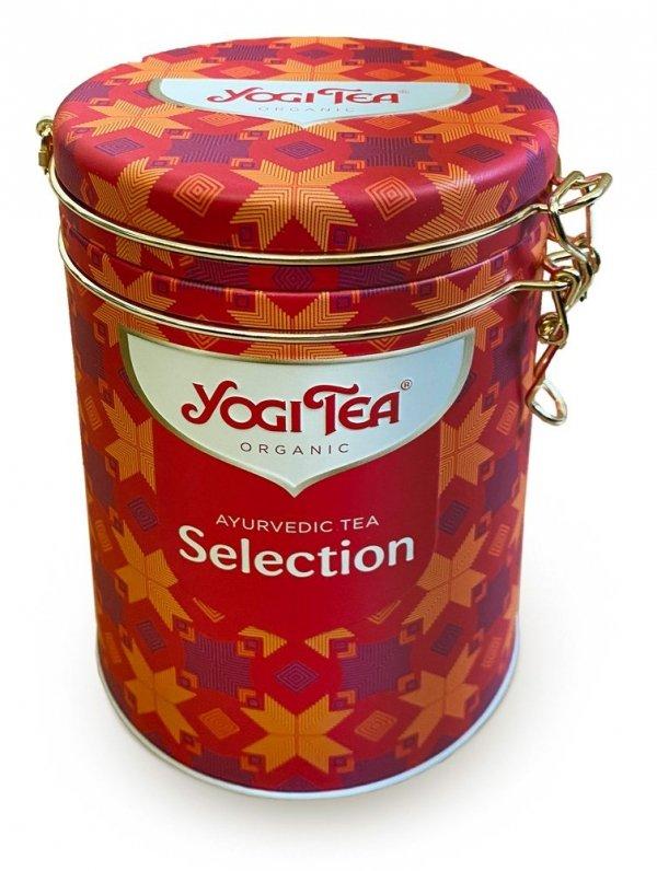 Yogi Tea AYURVEDIC TEA SELECTION Zestaw w puszce