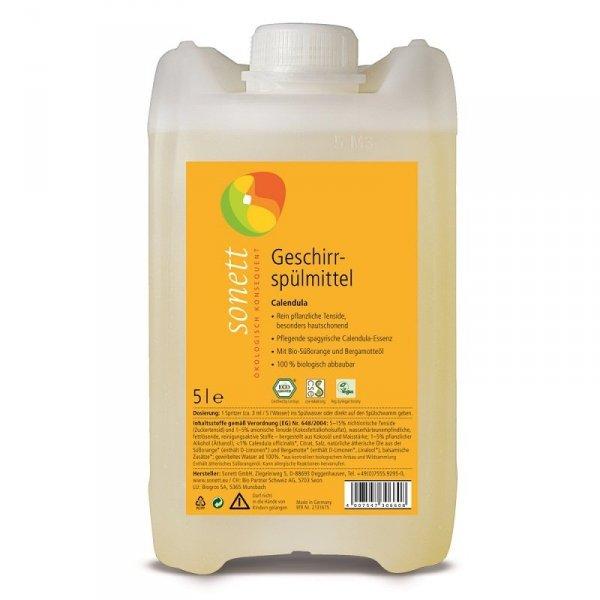 Sonett Płyn do mycia naczyń NAGIETEK 5 litrów