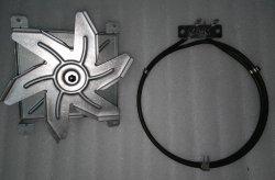 Grzałka termoobiegu + turbina - Od ręki!
