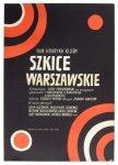 Stachurski Marian - Szkice warszawskie. [1969]. Plakat filmowy  (A123/438)