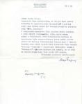 Maszynopisowy list Eryka Lipińskiego... 28 VI 1988