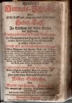 von Cochem Martin - Goldener Himmel-Schlussel, Oder:Sehr kraftiges, nutzliches und trostreiches Gebett-Buch, Zu Erlosung der lieben Seelen des Fegfeuers.