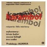 Rapnicki Janusz - Karambol. [1965]. Plakat filmowy